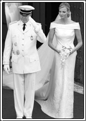 HSH Prince Albert Grimaldi of Monaco, married Charlene Wittstock