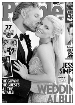 Jessica Simpson married Eric Johnson