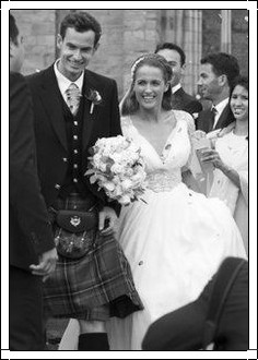 Andy Murray married Kim Sears