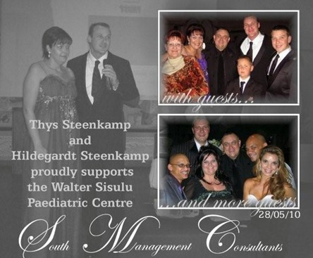 Hildegardt and Thys Steenkamp from South Management Consultants