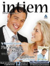Monique and Paul Rothman on the cover of Intiem magazine