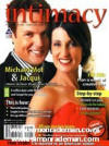 Jackie Mol on the cover of Intimacy Magazine